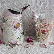 Для дома и интерьера ручной работы. Ярмарка Мастеров - ручная работа Набор для сада  Цветочный эскиз. Handmade.
