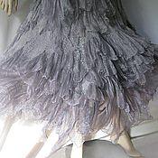 "Одежда manualidades. Livemaster - hecho a mano Wraparound skirt boho style ""White Nights"".. Handmade."