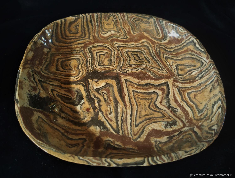 Тарелка керамическая нерикоми Неповторимая, Тарелки, Апшеронск,  Фото №1