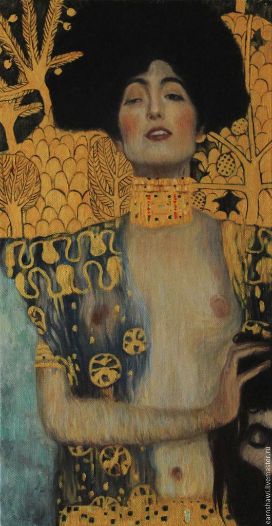 Копия с картины Климта `Юдифь с головой Олоферна`
