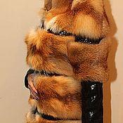 Одежда handmade. Livemaster - original item The coat of Fox skin on the snake. Handmade.