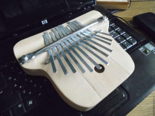 Струнные инструменты ручной работы. Ярмарка Мастеров - ручная работа. Купить африканский музыкальный инструмент Калимба. Handmade. Комбинированный, калимба