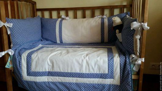 бортики в кроватку, для новорожденных,