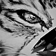 Животные ручной работы. Тигриная забота. Late Bar's Art (рисунки карандашом). Интернет-магазин Ярмарка Мастеров. Портрет по фото