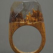 """Украшения ручной работы. Ярмарка Мастеров - ручная работа Деревянное кольцо """"Волшебная  принцесса 31"""", кольцо из дерева. Handmade."""