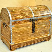 Для дома и интерьера ручной работы. Ярмарка Мастеров - ручная работа Старинный сундук. Handmade.