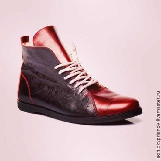 Обувь ручной работы. Ярмарка Мастеров - ручная работа. Купить Модель - Chukks. Handmade. Обувь на заказ, ручная работа, кожа