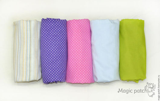 Детская ручной работы. Ярмарка Мастеров - ручная работа. Купить Простыня на резинке в детскую кроватку. Handmade. Комбинированный, простынь на резинке