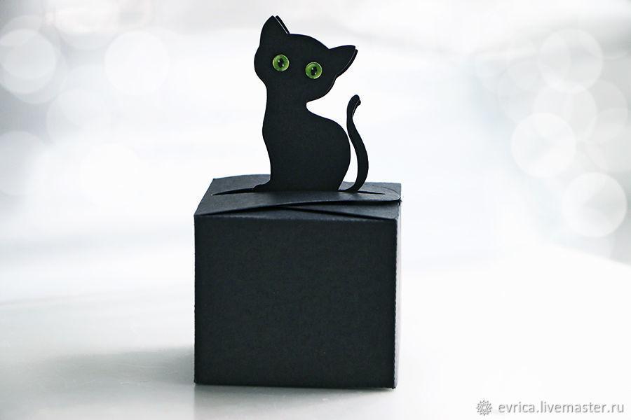 """""""Черная кошка"""" упаковка, Упаковочная коробка, Москва,  Фото №1"""
