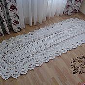 Для дома и интерьера handmade. Livemaster - original item Cotton knitted track