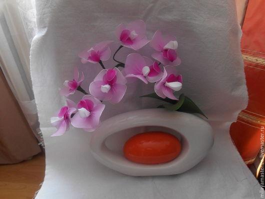 Цветы ручной работы. Ярмарка Мастеров - ручная работа. Купить Орхидеи. Handmade. Цветы ручной работы, подарок