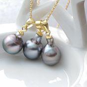 Украшения handmade. Livemaster - original item Pendant with large pearls Tahiti buy. Handmade.