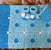 Работы для детей, ручной работы. Ярмарка Мастеров - ручная работа Комплект для новорожденного. Handmade.