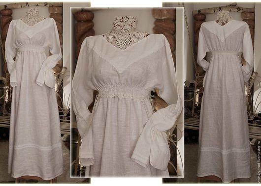 Платье Купала. 100%лён. Ручная вышивка на груди и на рукавах. Все мои платья шьются с ластовицами. По всем вопросам,обращаться личным сообщением.