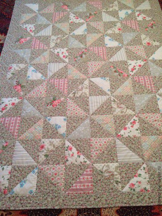 Текстиль, ковры ручной работы. Ярмарка Мастеров - ручная работа. Купить Покрывало_плед на кровать. Handmade. Розовый, покрывало в спальню