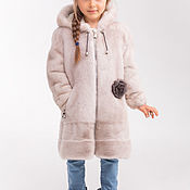 Работы для детей, handmade. Livemaster - original item Children mink coat. Handmade.