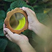Для дома и интерьера ручной работы. Ярмарка Мастеров - ручная работа Зеркала деревянные резные. Handmade.