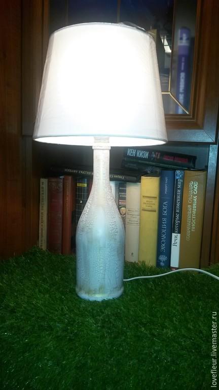 Освещение ручной работы. Ярмарка Мастеров - ручная работа. Купить настольная лампа. Handmade. Белый, настольная лампа, стиль, электричество