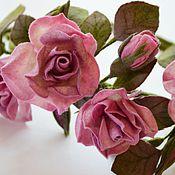 Аксессуары ручной работы. Ярмарка Мастеров - ручная работа Пояс розы. Handmade.