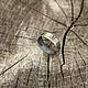 """Кольца ручной работы. Ярмарка Мастеров - ручная работа. Купить кольцо """"Фактура три"""", серебро. Handmade. Серебряный, кольцо из серебра"""