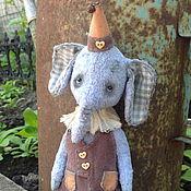 Куклы и игрушки ручной работы. Ярмарка Мастеров - ручная работа Слоник (грустный). Handmade.