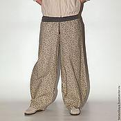 Одежда ручной работы. Ярмарка Мастеров - ручная работа Стильные брюки Жизель. Handmade.