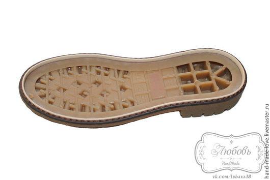 Валяние ручной работы. Ярмарка Мастеров - ручная работа. Купить Подростковая подошва для вязаной и валяной обуви (5522). Handmade. Подошва