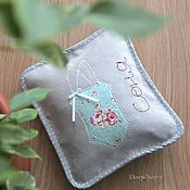 Для дома и интерьера handmade. Livemaster - original item Set handbags. The blue and rose. Handmade.