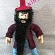 МК крючком 250 руб. Вязаная игрушка. Сказочный персонаж  Карабас Барабас! Готовая игрушка от автора 1500 руб.