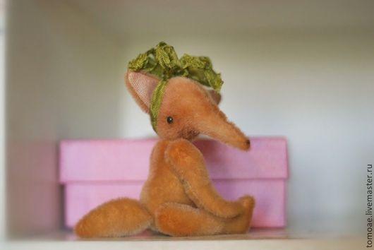 Мишки Тедди ручной работы. Ярмарка Мастеров - ручная работа. Купить мини лисичка. Handmade. Рыжий, мини тедди, sassy