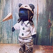 Куклы и игрушки ручной работы. Ярмарка Мастеров - ручная работа Мишка тедди - Мне бы в небо.... Handmade.