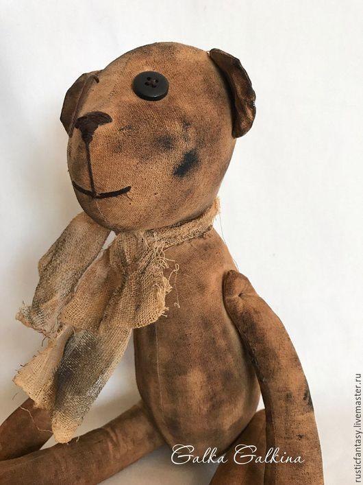 Ароматизированные куклы ручной работы. Ярмарка Мастеров - ручная работа. Купить Чердачный мишка. Handmade. Чердачный мишка, кофе