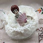 Винтаж ручной работы. Ярмарка Мастеров - ручная работа Большая старинная Half doll в стиле Арт Деко.. Handmade.