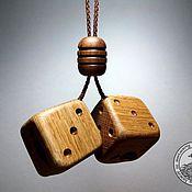 """Елочные игрушки ручной работы. Ярмарка Мастеров - ручная работа Подвеска в машину """"Кубики"""". Handmade."""