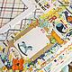 Фотоальбомы ручной работы. Альбом для мальчика на первый год. Дарья Бурмистрова (dasha2203). Ярмарка Мастеров. Альбом на заказ, подарок маме и малышу