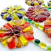 """Цветы и флористика ручной работы. Ярмарка Мастеров - ручная работа """"Цветок в горшок!"""" из стекла. Фьюзинг. Handmade."""