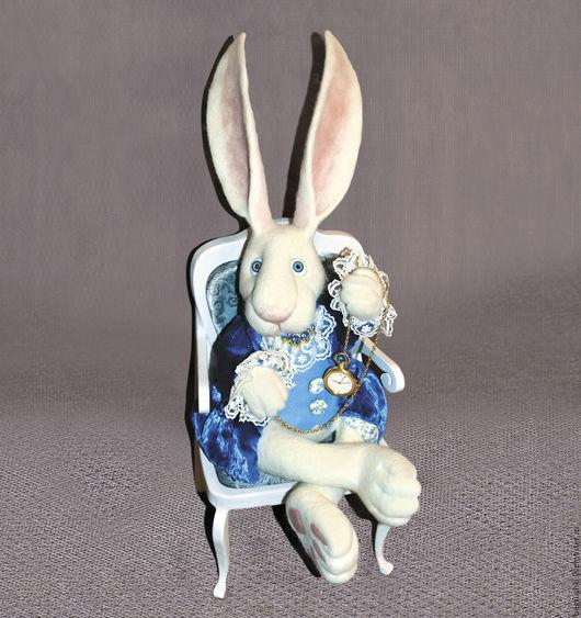 """Сказочные персонажи ручной работы. Ярмарка Мастеров - ручная работа. Купить Белый Кролик из """"Алисы..."""". Handmade. Белый"""