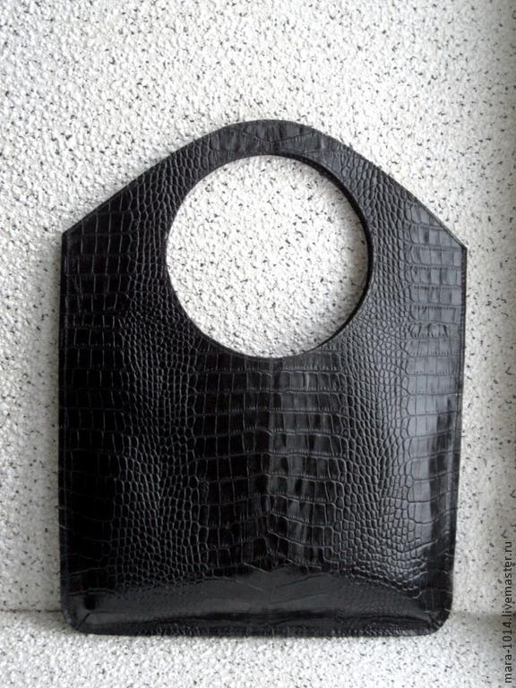 ГЕОМЕТРИЯ кожаная сумка-пакет, Женские сумки, Москва, Фото №1