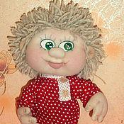 Куклы и игрушки ручной работы. Ярмарка Мастеров - ручная работа Текстильная кукла Домовенок Кузя. Handmade.