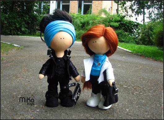 Коллекционные куклы ручной работы. Ярмарка Мастеров - ручная работа. Купить интерьерная кукла. Handmade. Комбинированный, Кукольный трикотаж