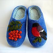 Обувь ручной работы handmade. Livemaster - original item Sneaker bullfinch and Rowan felted. Handmade.