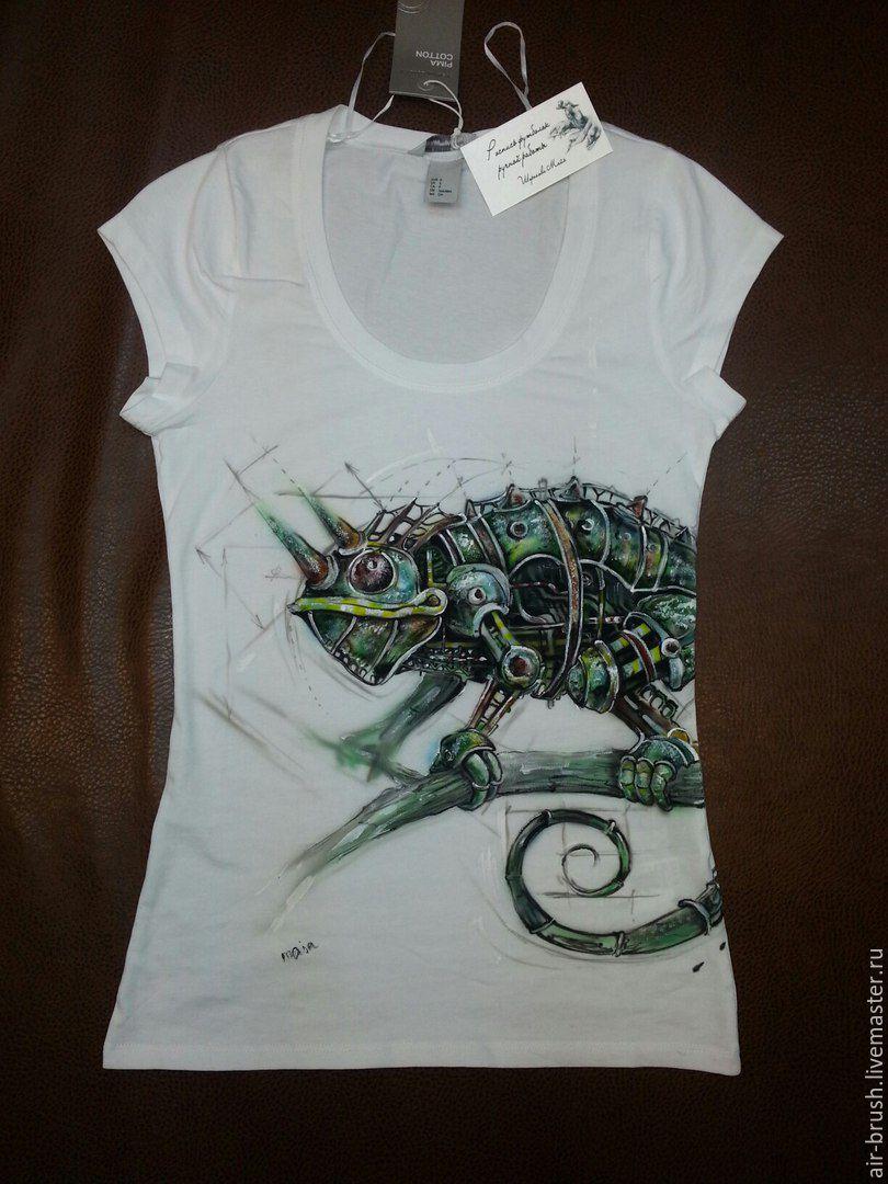 T-shirt design handmade - T Shirts Singlets Handmade Livemaster Handmade Buy T Shirt