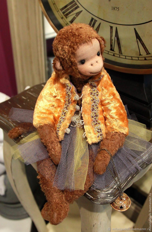 Friends Teddy. The author's work.Monkey Chi-Chi-Chi, Stuffed Toys, Vladikavkaz,  Фото №1