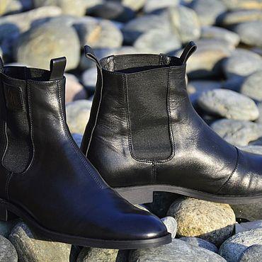 Обувь ручной работы. Ярмарка Мастеров - ручная работа Челси мужские. Handmade.