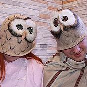 Для дома и интерьера handmade. Livemaster - original item Hat bath Owl. Handmade.