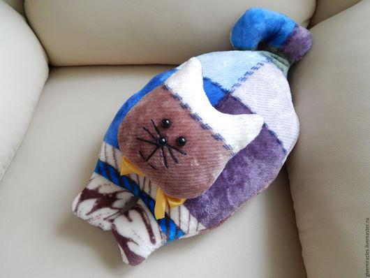 Текстиль, ковры ручной работы. Ярмарка Мастеров - ручная работа. Купить Подушка игрушка Кот,мягкая подушка,детская игрушка. Handmade.