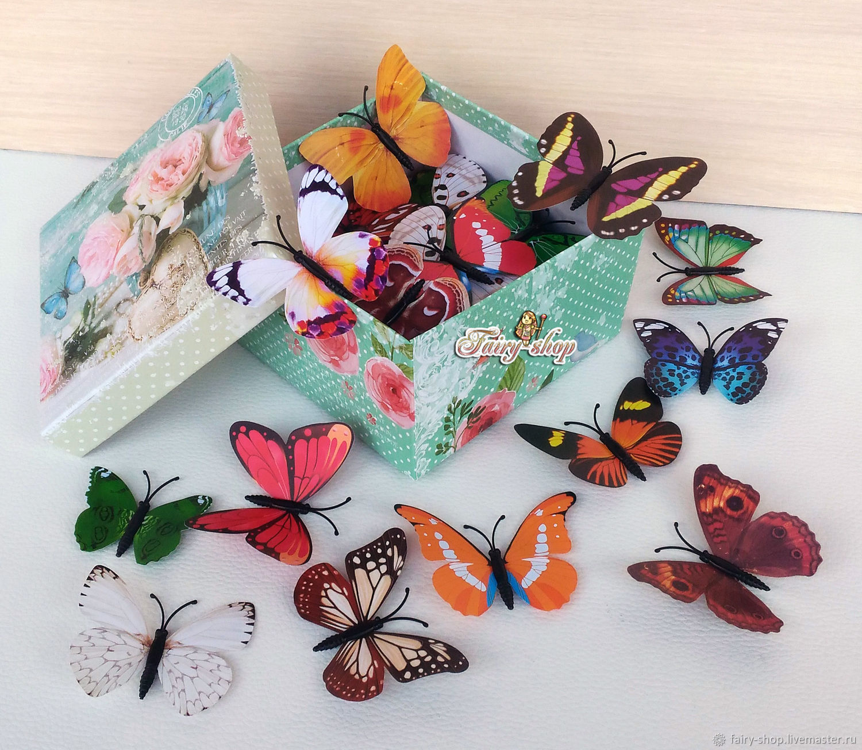 Large set of butterflies, Interior elements, St. Petersburg,  Фото №1
