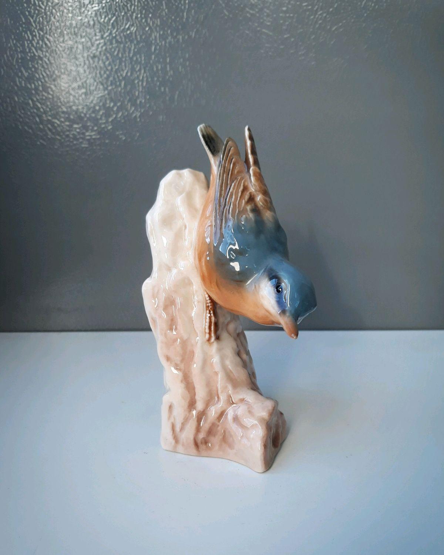 Винтаж: Фарфоровая статуэтка – купить на Ярмарке Мастеров – JHWMMRU | Предметы интерьера винтажные, Альби