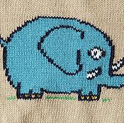Работы для детей, ручной работы. Ярмарка Мастеров - ручная работа Слонёнок. Handmade.