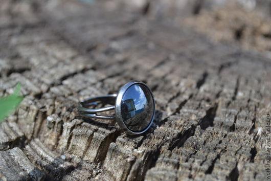 Кольца ручной работы. Ярмарка Мастеров - ручная работа. Купить Кольцо Уголек. Handmade. Черный, кольцо с камнем, красивый подарок
